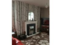 3 bed first floor flat fully decorated swap exchange for 3 bed house