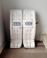 CCM Retro Flex Pro Return Goalie Pads
