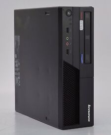 WINDOWS XP LENOVO M58 DESKTOP COMPUTER - INTEL CORE 2 DUO - PC - 1GB RAM - 80GB