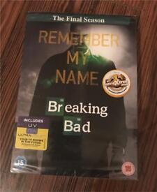 Breaking Bad Final Season DVD box set in film wrapping - £5
