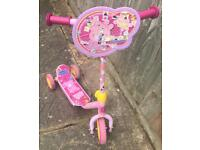Peppa Pig scooter - free