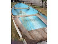 12 foot GRP dinghy