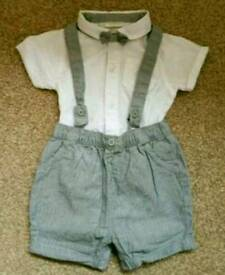 Boys 6-9 month next suit