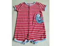 Brand New Carter's Sloth Print Baby Clothes 18 Months