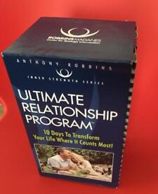 Ultimate Relationship by Anthony Robbins & his wife helps with marriage and better romance