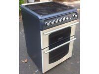 Cannon Traditional 60 Dual Fuel Free standing cooker in cream VGC hardly used