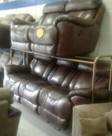 Lazy boy power recliner 3*2