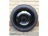 Toyota Yaris Spare Wheel Tyre + Jack & Tools (Excellent Condition)