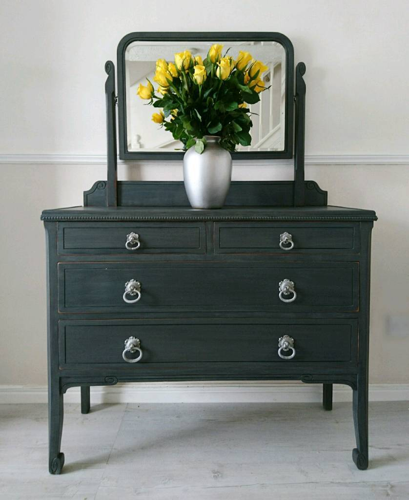 Dressing table edwardian dressing table vintage chest od drawers