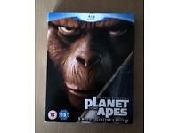 Planet Of The Apes Collection (Blu-ray, 2008, 5-Disc Set)