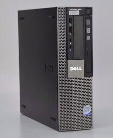 WINDOWS 7 DELL OPTIPLEX 960 USSF QUAD CORE - PC COMPUTER - 4GB RAM - 500GB HDD