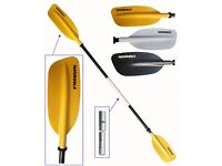 Kayak Paddle - two piece asymmetrical paddle