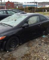 2008 Honda Civic si for parts