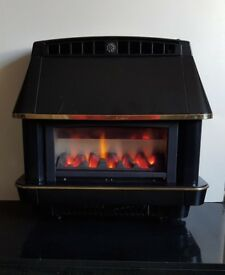Robinson Willey Firecharm Electronic 4.78 Kw Gas Fire (Black)