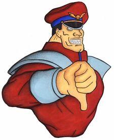 Street Fighter M. Bison print