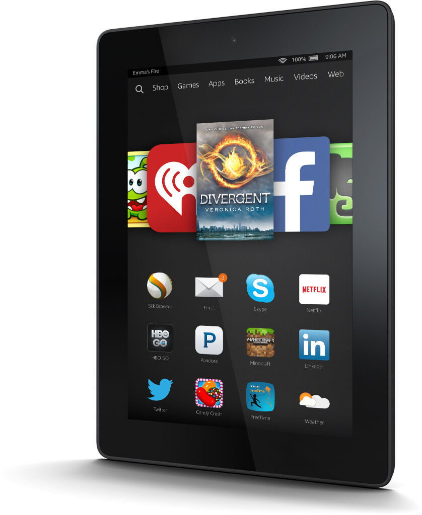 Amazon Kindle Fire HD (3rd Gen) 16GB in Black - 7