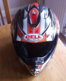 Bell Motocross Crash Helmet