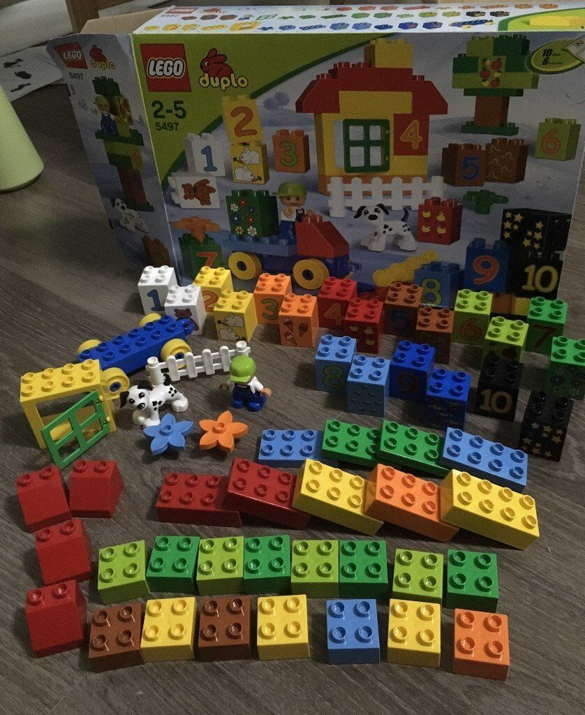 Lego Duplo 5497 Play With Numbers In Cambridge