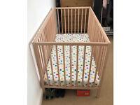 IKEA SNIGLAR Baby Cot Bed