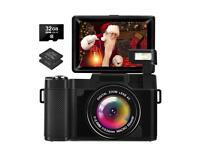 Digital Camera 2.7K 30 Mega Pixels Full HD Vlogging Camera