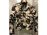 Textile Motorcycle Jacket Size Large