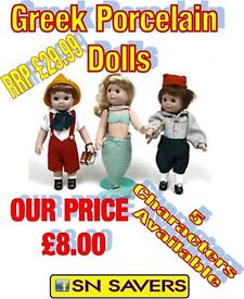 COLLECTERS PORCELIN DOLLS