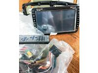 """8"""" Touch screen-IN CAR Entertainment system. With remote control Windows CE"""