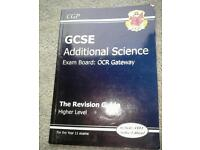 GCSE Additional Science Revision Guide Higher Level. OCR Gateway