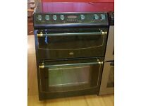 60cm Green Belling Ceramic Cooker, Double Oven / Fan Assisted -6 Months Full Warranty (Ref:100009)