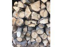 Trailer Load Of Firewood Timber Logs Wood Burner Stove Fuel