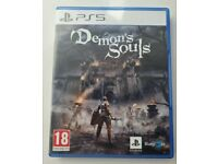 Demon's Souls PS5 2020. Used but like new.