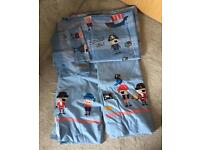 Next Pirate Toddler Bedding and Curtains