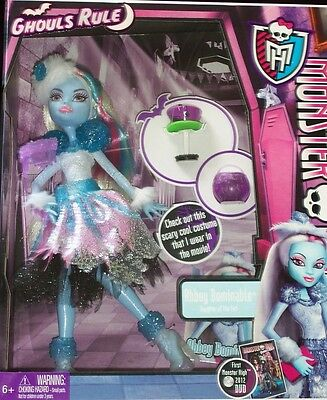 Monster High Doll GHOULS RULE ABBEY BOMINABLE Daughter of the Yeti