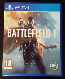 PS4- Battlefield One