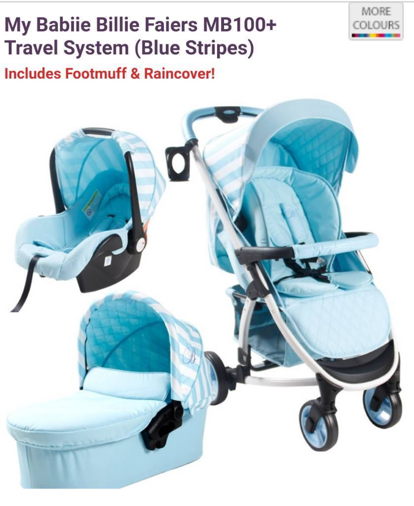 My Babiie 3in1 travel system Brand new