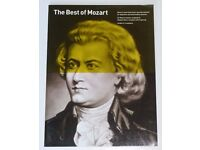 The Best Of Mozart Music Book