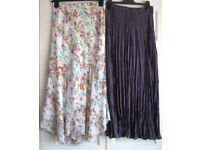 Skirts, sizes 10 and 12, some New. £2 - £5