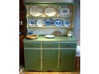Large Solid pine Shabby Chic Welsh Dresser