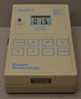 Neuro Technology Digi Stim Iii Peripheral Nerve Stimulator