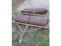 2x 5ft Cambridge Field Paddock Rollers