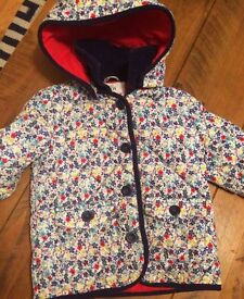 Toddlers Coat Padded & Warm with hood Marks & Spencers Age 3 - 4 years