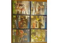 6 BRAND NEW AND SEALED SONY PLAYSTATION 4 GAME