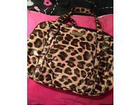 Leopard print fiorelli bag