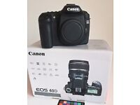 Canon EOS 40D digital camera body with many extras