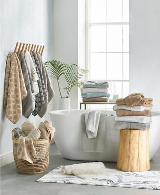 Hotel Collection Ultimate MicroCotton Bath Sheet Towel DUNE Solid Brown 32x66