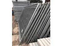 ☃️Used Security Heras Style Security Fencing Panels