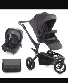 Jane trider pushchair and car seat
