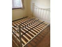 Metal Frame Double Bed £85