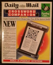 Daily Mail 'Crossword Companion' Roll-A-Puzzle System (new)
