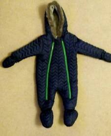 Snowsuit / pram suit pramsuit for 6-9 months